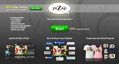 Pizap.com Edita y añade Divertidos efectos a fotografias