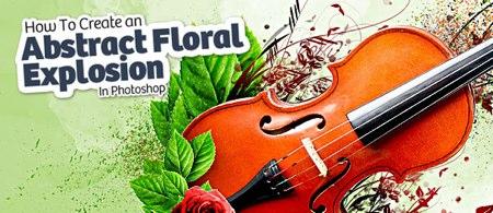 Crear explosión floral con Photoshop