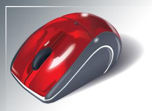 Moderno Mouse Vectorizado