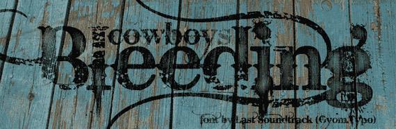 Colección de más de 70 tipografías Grunge